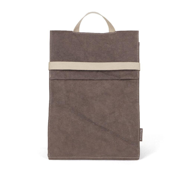Epidotte Brown Colour Almira Bag from Eco-friendly paper at hippist.co.uk