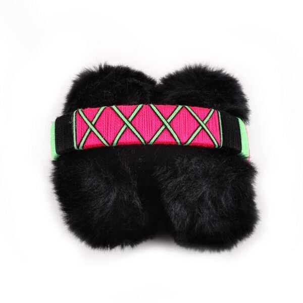 happynes branded handcrafted and colourful ear warmers at hippist