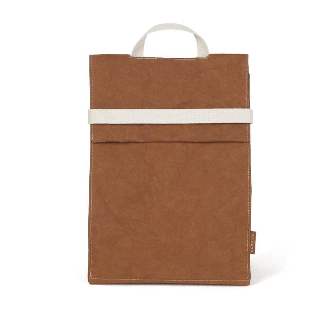 Epidotte Clay Colour Almira Bag from Eco-friendly paper at hippist.co.uk