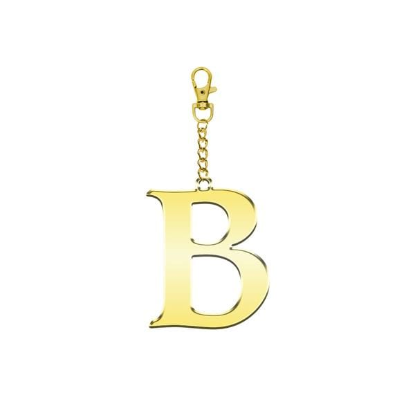Why Note!? B Letter Bag Accessory and Key Holder at hippist.co.uk