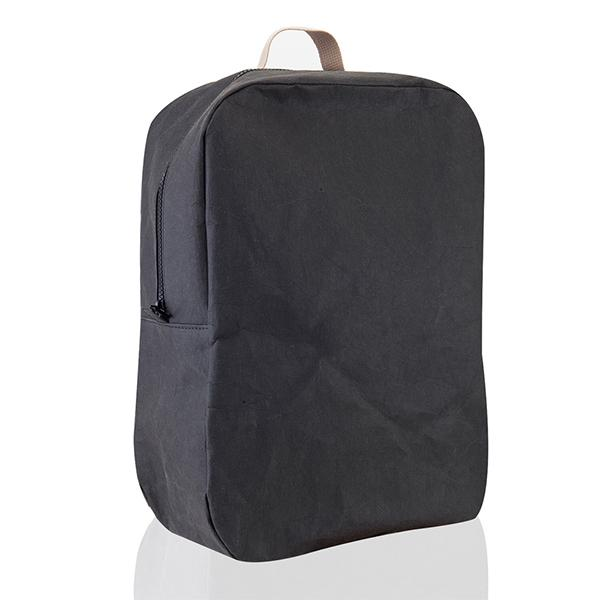 Epidotte Balck Colour Backpack from Eco-friendly paper at hippist.co.uk