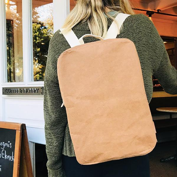 Epidotte Kraft Colour Backpack from Eco-friendly paper at hippist.co.uk