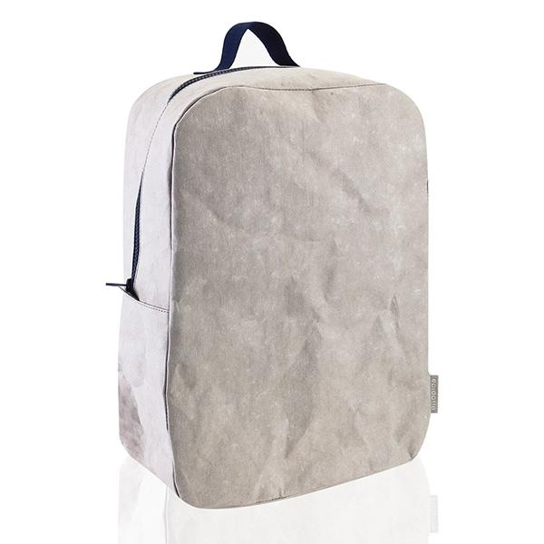 Epidotte Stone Colour Backpack from Eco-friendly paper at hippist.co.uk