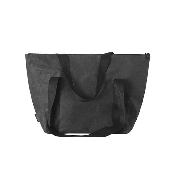 baggy bag black from eco-friendly paper