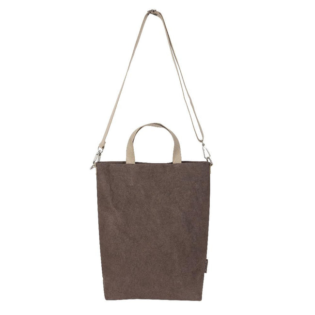 Epidotte Brown Colour Basic Bag from Eco-friendly paper at hippist.co.uk