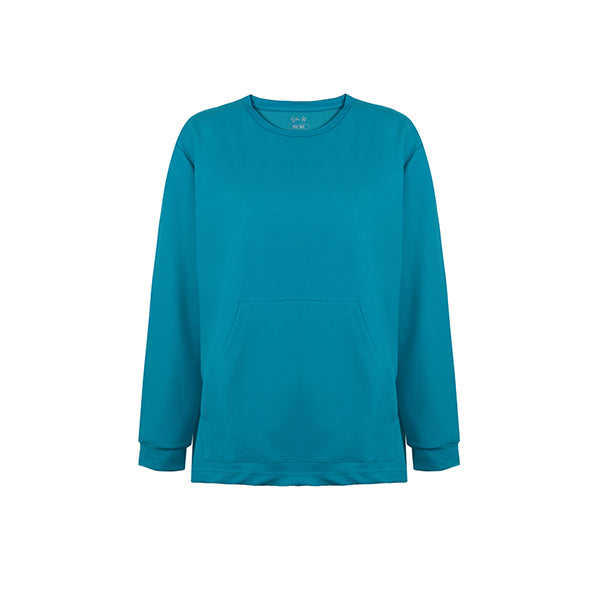 Basic Sweatshirt | Blue