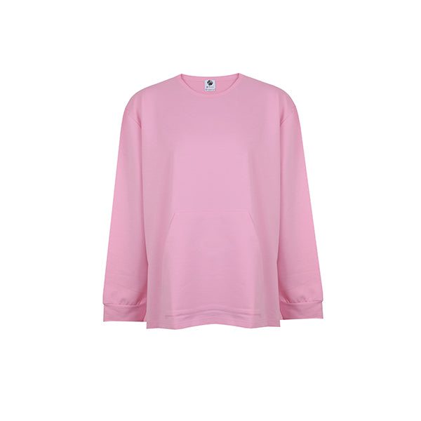 Basic Sweatshirt | Pink