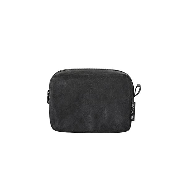 Epidotte Black Colour Medium Beauty Case from Eco-friendly paper at hippist.co.uk