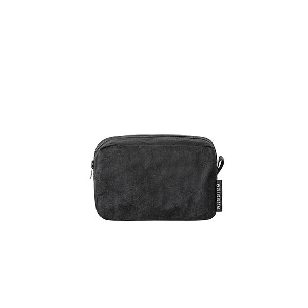 Epidotte Black Colour Small Beauty Case from Eco-friendly paper at hippist.co.uk