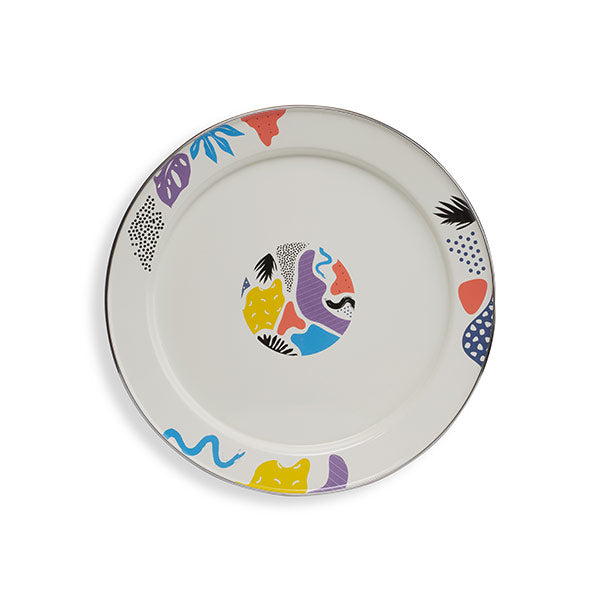 44 cm Colorful Enamel Tray
