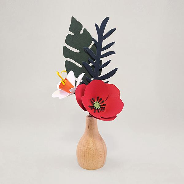 A Small Bite Bouquet Paper Craft A! Ne Hos