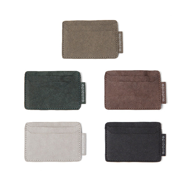 5 different colors card holder from eco friendly paper