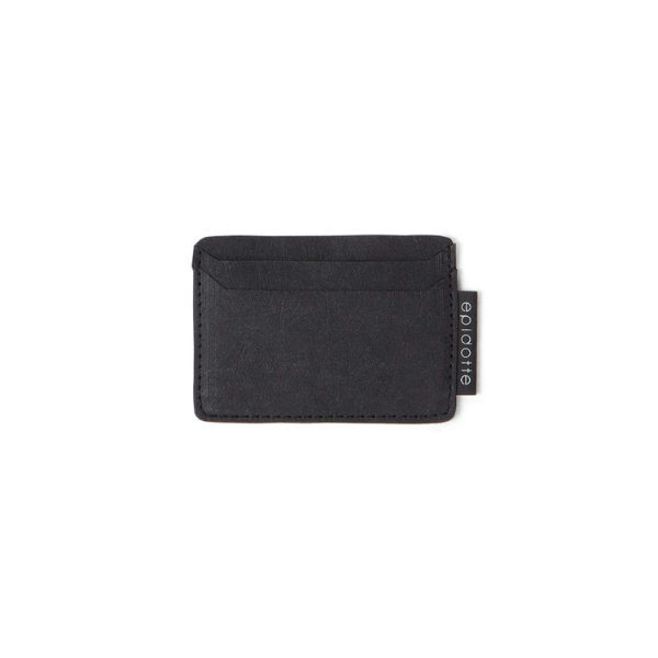 black washable paper card holder