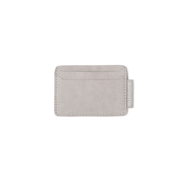 stone colour card wallet from eco friendly paper