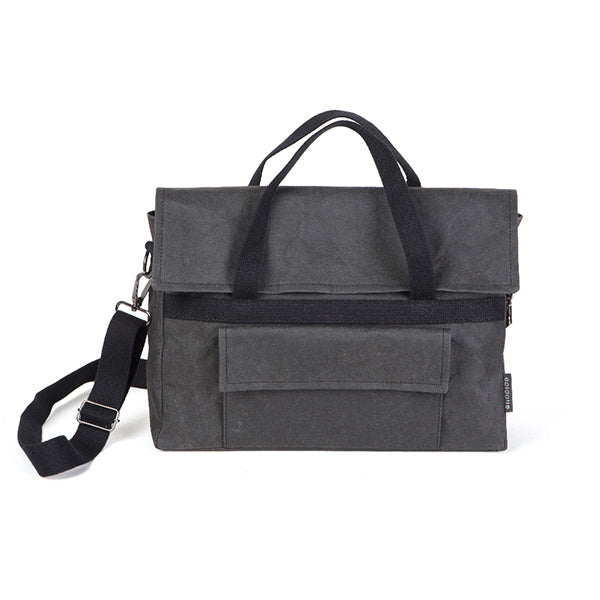 Epidotte Black Colour Carry Bag from Eco-friendly paper at hippist.co.uk