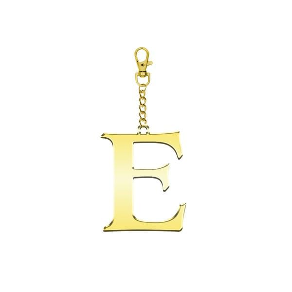 Why Note!? E Letter Bag Accessory and Key Holder at hippist.co.uk
