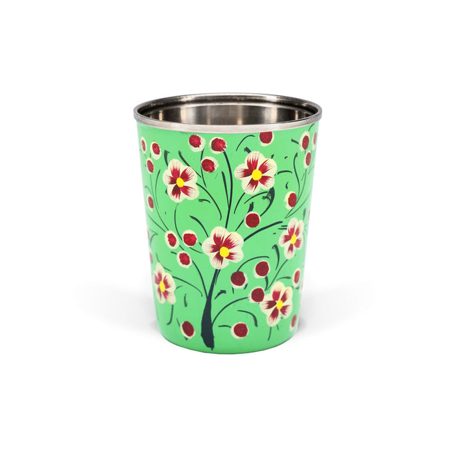 Small Enamel Tumbler | Green