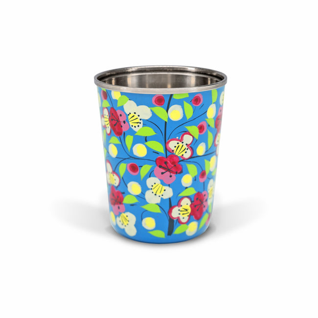 Small Enamel Tumbler | Blue