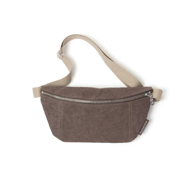 Epidotte Brown Colour Fanny Pack from Eco-friendly paper at hippist.co.uk