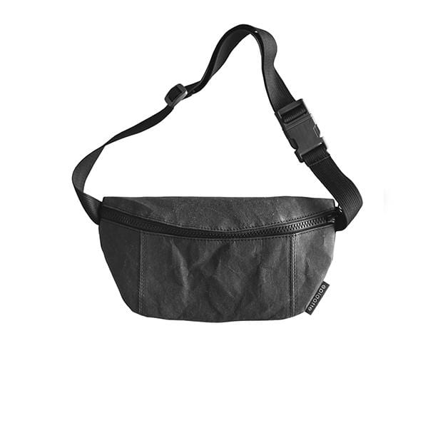 Epidotte Black Colour Fanny Pack from Eco-friendly paper at hippist.co.uk