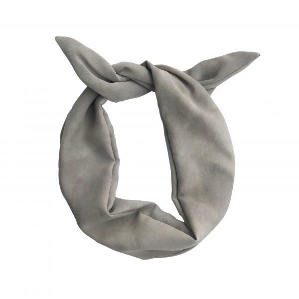 Darwin's botanicals branded grey colour hand dyed silk headband at hippist