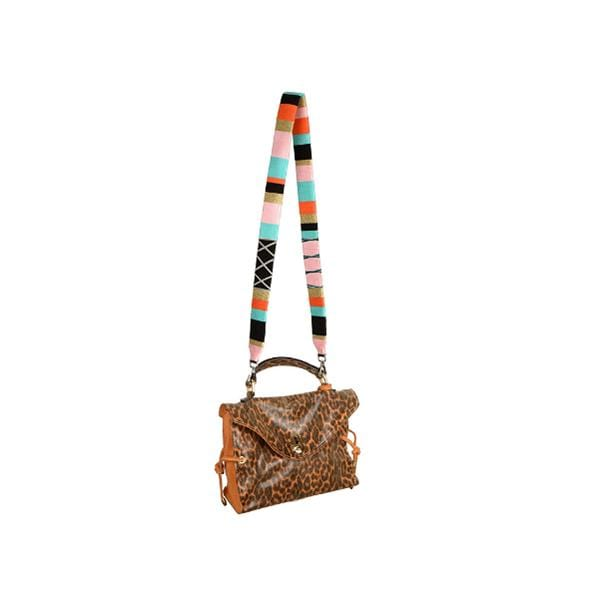 happy-nes branded classic zigzag design boho xl bag strap fizzypop at hippist.co.uk