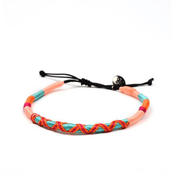 happy-nes branded handcrafted colourful anklet bonita