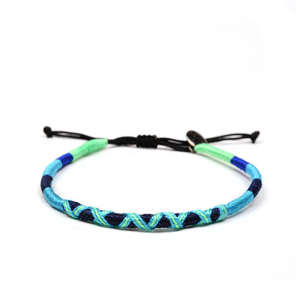 happy-nes branded handcrafted colourful anklet olympic