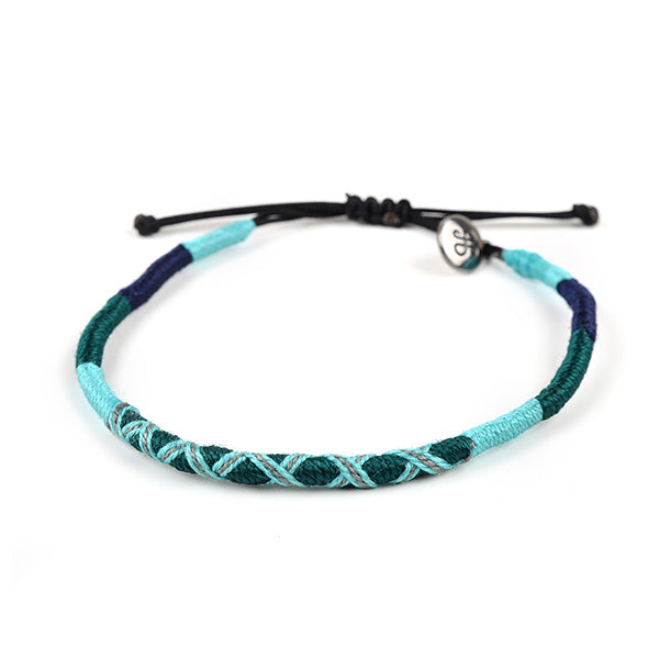 happy-nes branded handcrafted colourful anklet regal