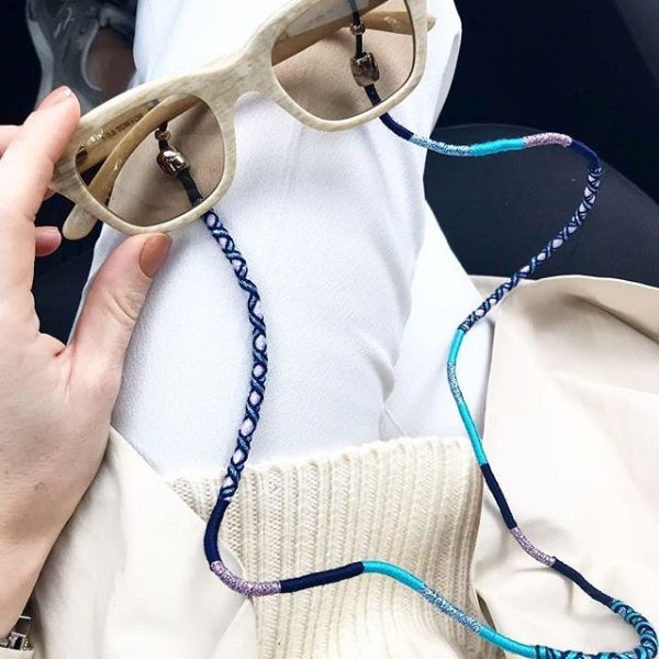 Colourful Eyeglass Chain | Gigi