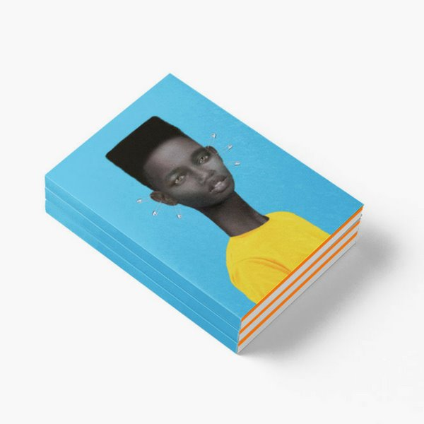 Boy with Ear Piercings Notebook Muk Design