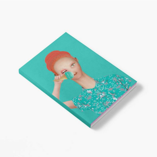 Boy with an Ice-Cream Notebook Muk Design