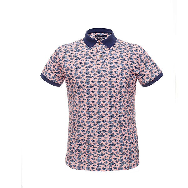 Constantino Polo Shirt | Pink - hippist.co.uk