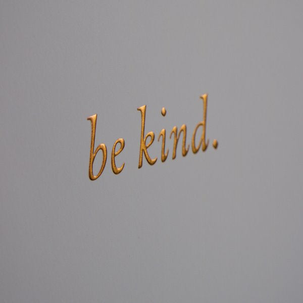 Be Kind Decorative Accessories Creamfields