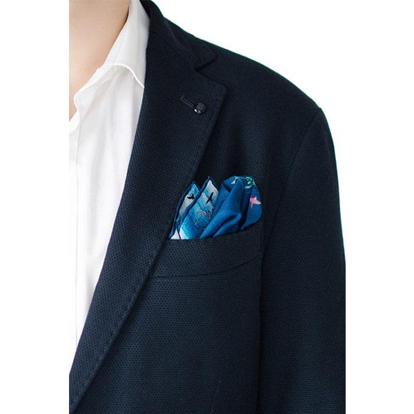 Bird | Silk Pocket Square Accessories El Deseo