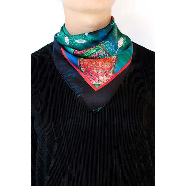 Elsa | Silk Bandana - hippist.co.uk