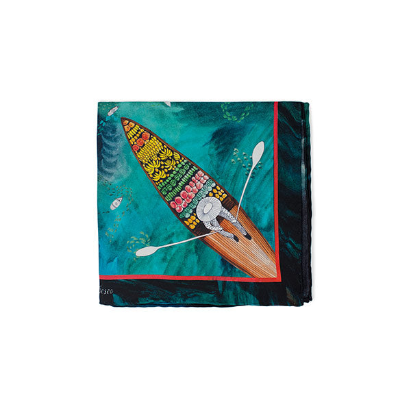 Elsa | Silk Pocket Square - hippist.co.uk