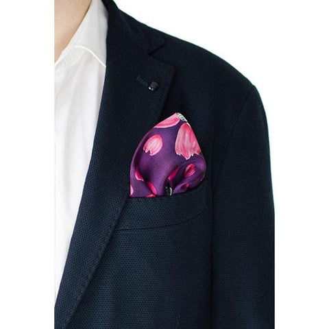 Final Meeting | Silk Pocket Square