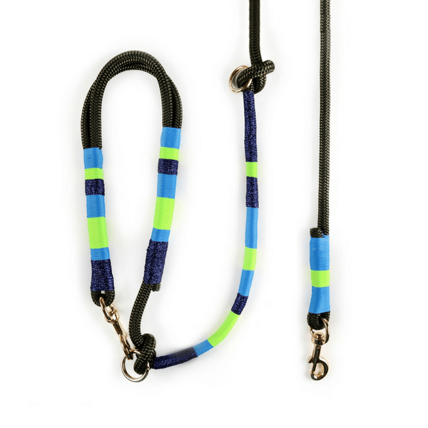 silverly navy blue green blue Dog Leash | Bubble - hippist.co.uk