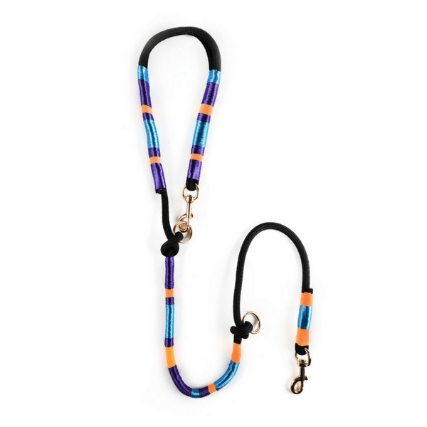 colorful Dog Leash | Midnight - hippist.co.uk