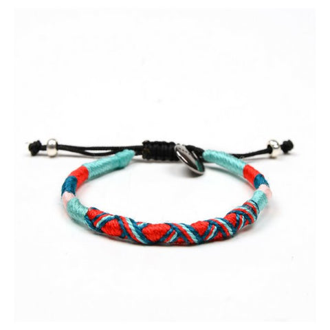 Kasnak Halfmoon Bracelet with Ribbon