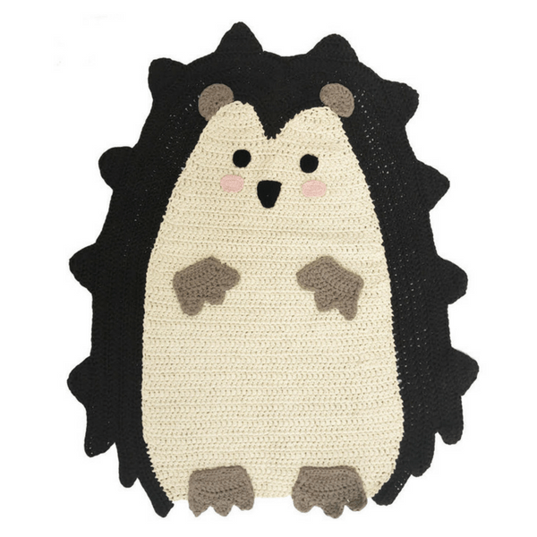 Handwoven Hedgehog Mat - hippist.co.uk