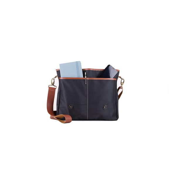 Carambola Messenger | Black Waterproof Bags Ottobags