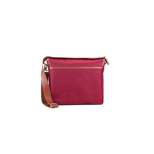 Carambola Messenger | Claret Red Waterproof Bags Ottobags