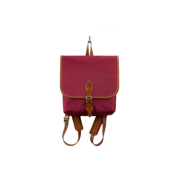 Coconut Mini Backpack | Claret Red Waterproof - hippist.co.uk
