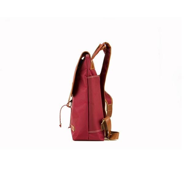 Koala Large Backpack | Claret Red Waterproof - hippist.co.uk