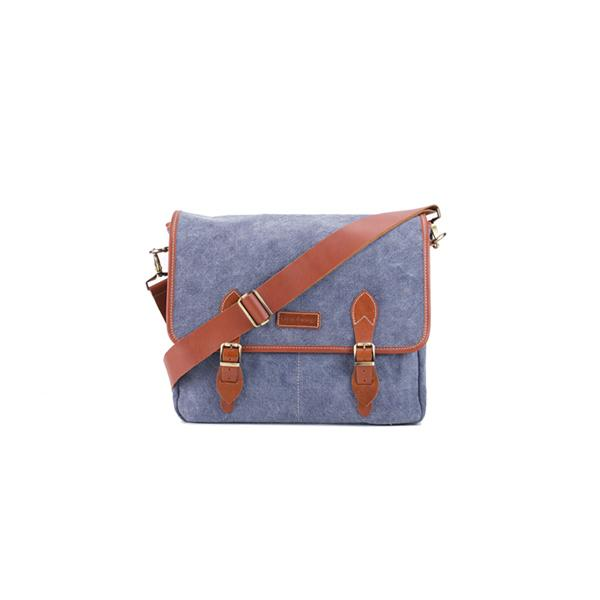 Carambola Messenger | Blue Washed Canvas Bags Ottobags
