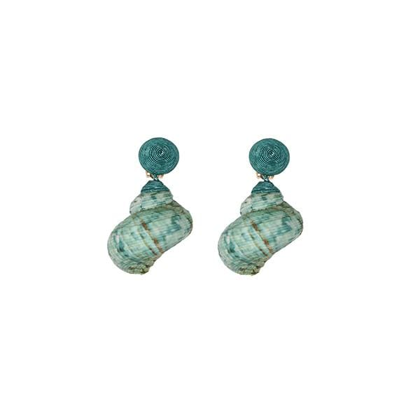 Underwater | Periwinkle Light Green Earrings