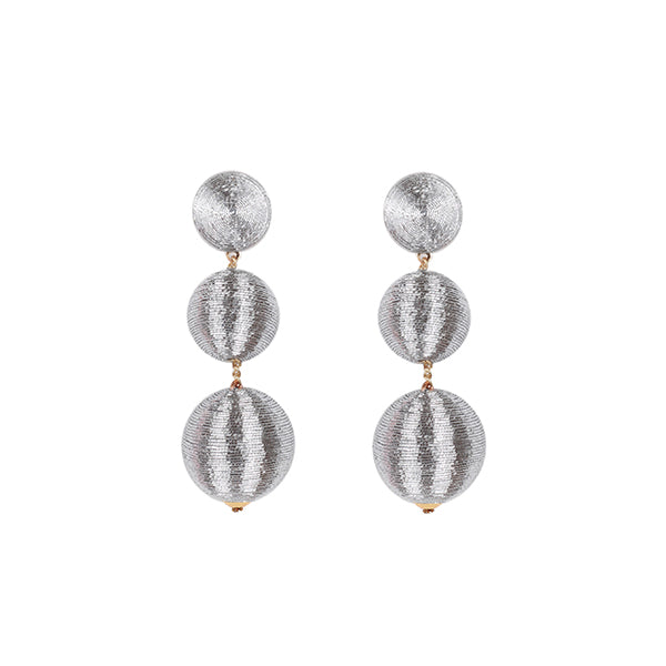 Dahlia | Silver Earrings - hippist.co.uk