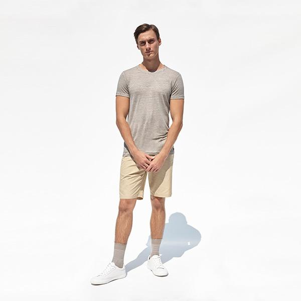 Pappagallo Linen T-Shirt | Taupe